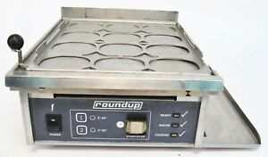 Roundup Egg Station Es 1200cv Commercial Countertop Griddle 220 240v