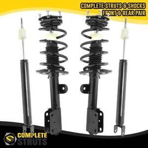 2011 2013 Ford Explorer Fwd Front Quick Complete Struts Rear Shock Absorbers