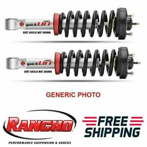 Rancho Quicklift Strut Aseemblies Front Set Of 2 For Toyota Sequoia tundra