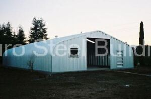 Durospan Steel 40 x50 x16 Metal Building Storage Garage Workshop Factory Direct