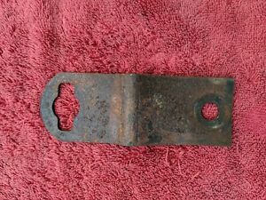 1941 1942 1946 Chevy Pickup Truck Front Bumper Start Crank Hole Bracket Original