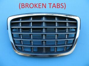 2004 2005 2006 Kia Amanti Front Hood Upper Top Grille Chrome Used Oem 04 05 06