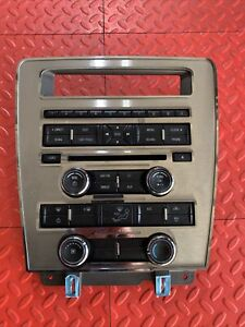 11 14 Ford Mustang Radio Aux Ac Climate Control Panel Dash Oem Br3t 18a802 ja