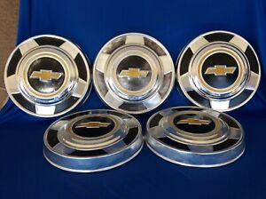 5 75 87 Chevy C 10 Pickup Truck Parts Accessories Dog Dish Wheel Center Hub Caps