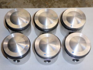 Triumph Tr6 Tr250 Gt6 Domedtop Pistons 040 Oversize