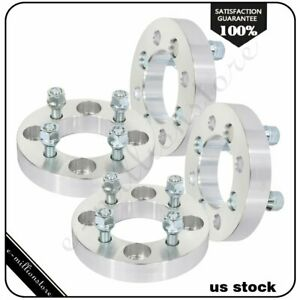 4 Pcs 1 4x108 To 4x100 12x1 5 Studs Wheel Spacers For Ford Fiesta 02 17