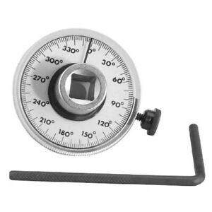 1 2 Torque Angle Gauge 360 Rotation Scale Gauge With Wrench Measurer Tool