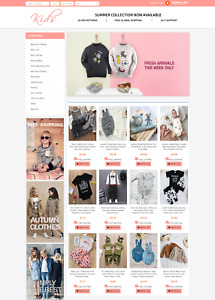 Fully Automated Dropshipping Kids Website Free Domain Free Hosting