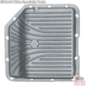 Turbo 350 Th350 Hd Deep Transmission Pan 2 Qts Extra Capacity Cast Aluminum
