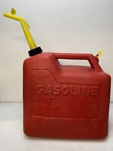 Vintage Chilton Model P50 5 Gallon Vented Gas Can Made In Usa Pre Ban Old School