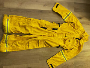 Yellow Nomex Coveralls jumpsuit Xl