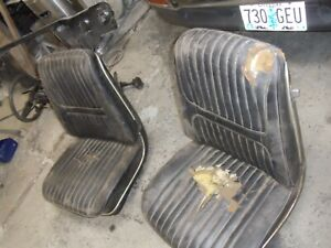 1967 Lemans Tempest 442 Chevelle Ss Gto Gs Bucket Seats With Metal Trim