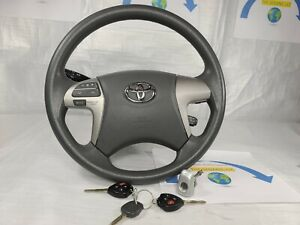 2007 2011 Toyota Camry Complete Steering Wheel Assembly W Ignition Keys