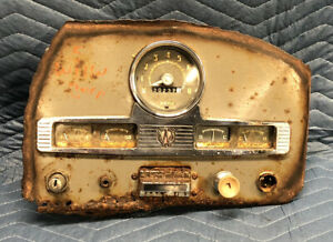 1951 Willys Jeep Pickup Wagon Gauge Cluster Panel