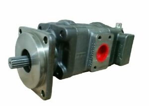 New 85801065 Hydraulic Pump For New Holland 575e Loader Backhoe