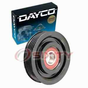 Dayco Ac Drive Belt Idler Pulley For 1998 2001 Nissan Altima Engine Bearing Dn