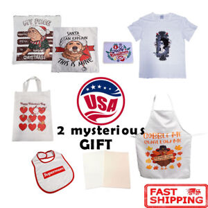 Sublimation Blanks With Transfer Pattern Pillow Case T shirts Bags Mouse Pad