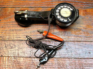 Vintage Beco Bell Company System Lineman Test Phone Handset Rotary Dial Tool