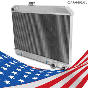 Aluminum Performance Radiator Fit 1965 1966 1967 Pontiac Gto tempest lemans