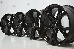 Kia Stinger 19 2017 2018 2019 Factory Oem Wheels Rims 19 Black Square 19x8