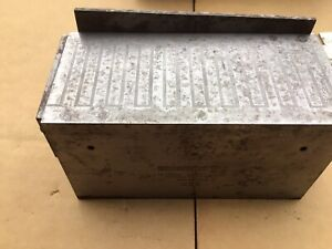 Brown And Sharpe 255 Magnetic Block W Original Box