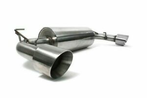 Perrin 3 Catback Exhaust Dual Tip W resonator Brushed For Brz Fr s Toyota 86