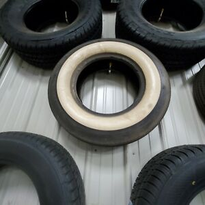 15 Inch Tires used 3 Inch White Wall