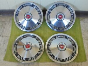 1974 Ford Mustang Ii Hubcaps 13 Set Of 4 Wheel Covers 74 Hub Caps