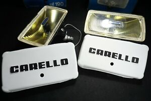Vintage Pair Of Carello Fog Light Carello Fog Lamps Nos
