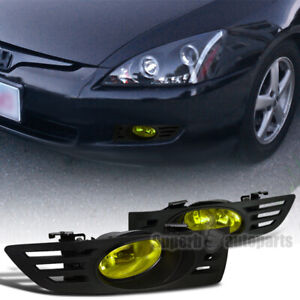 For 2003 2005 Honda 03 05 Accord 2d Coupe Driving Fog Lights Bumper Lamp switch