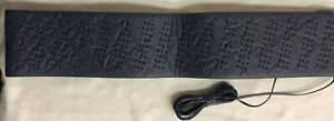 Steering Wheel Cover Lace Up old School Type Slate Blue Color
