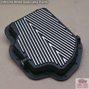 Turbo 400 Th400 Hd Transmission Pan Stock Capacity Black Powder Coat
