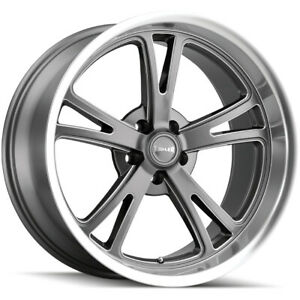 Staggered Ridler 606 Front 20x8 5 Rear 20x10 5x4 75 0mm Gunmetal Wheels Rims