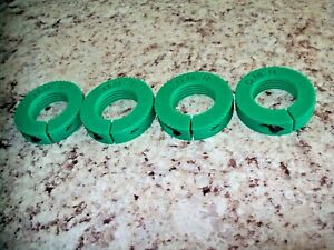 Reloading Die Lock Rings set of 4 compatible with Lee RCBS Hornady GREEN $10.00