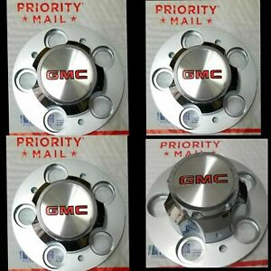 New Chevrolet Chevy Gmc Truck 5 Lug 15 15x8 15x7 Rally Wheel Center Hub Caps