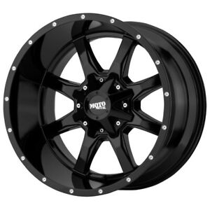4 moto Metal Mo970 16x7 5x130 42mm Gloss Black Wheels Rims 16 Inch