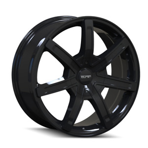 17 Inch 17x7 5 Touren Tr65 Black Wheels Rims 6x5 5 6x139 7 20