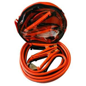 12 Ft 6 Gauge Power Booster Cable Emergency Car Battery Jumper 500amp
