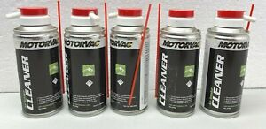 Motorvac Air Intake Cleaner Fuel Service Spray 4 Oz Lot Of 5 Cans