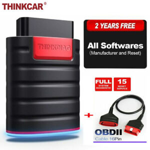 Thinkdiag Obd2 Car Code Reader Diagnostic Scanner Tpms Abs Immo Srs Tool Cable