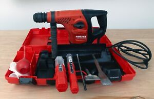 Hilti Te 40 Avr Rotary Hammer Drill In Case With Accessories New Lowered Price