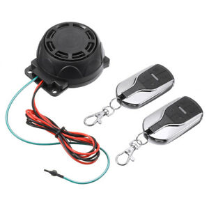 Motorcycle Scooter Remote Control Anti theft Alarm Security System Engine Start