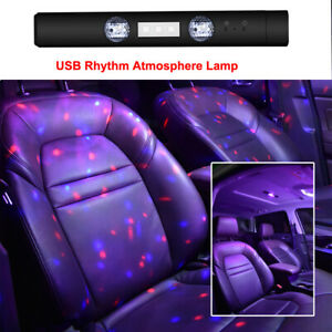 Usb Led Car Interior Roof Star Night Light Atmosphere Galaxy Lamp Accessories