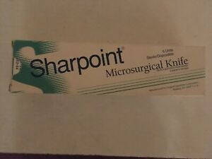 Sharpoint Microsurgical Knife