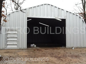 Durospan Steel 35 x40 x16 Metal Building Kit Diy Garage Workshop Factory Direct