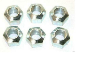 Front Wheel Nuts 6 For International Tractors 484 574 584 585 674 885 4140