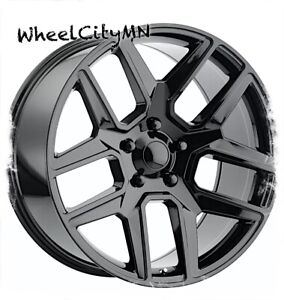 20 X9 Gloss Black 2019 2020 Ram 1500 Oe Replica Wheels Five Lug 5x5 5 19