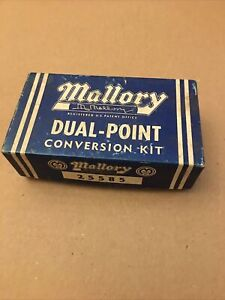 Mallory Dual Point Conversion Kit 25585 Nos Ford Lincoln Mercury V8 57 58