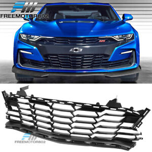 Fits 19 21 Chevy Camaro Ss Style Front Bumper Lower Grille Guard Abs