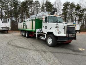 Potential Grapple Saw Tree Truck 1997 Volvo With 92 Ft Reach Crane